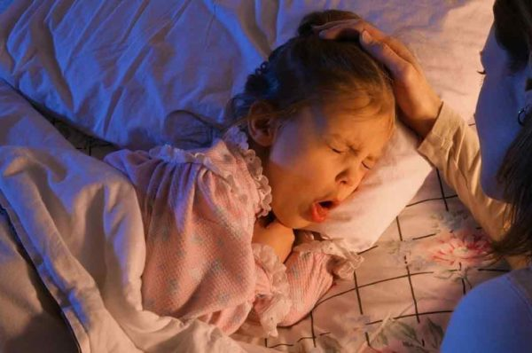 Night time cough in babies