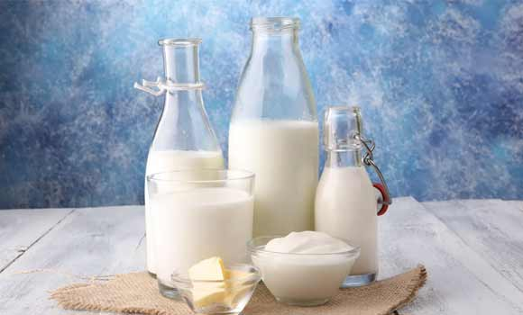 Dairy products with low fat value