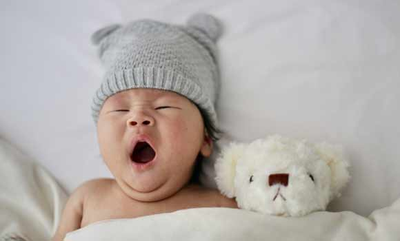 Put your baby to sleep when he's relaxed not irritated